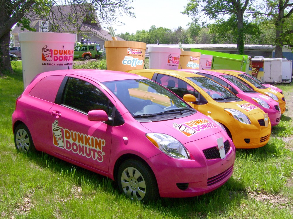 Dunkin Donuts | Coffee Sampling Fleet