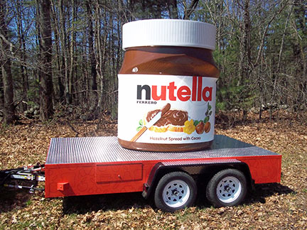 Nutella Jar Spreading Joy in Communities across the Country