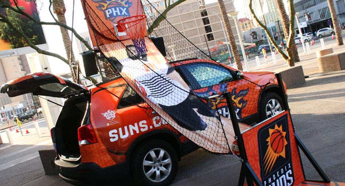 Phoenix Suns | Game-Day Vehicle