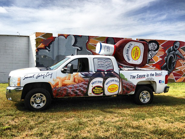 Sweet Baby Ray's | Promotional Vehicle