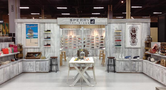 Sperry Top-Sider | Retail Exhibit