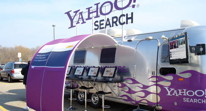 Yahoo! | Yahoo! Search Bar Airstream