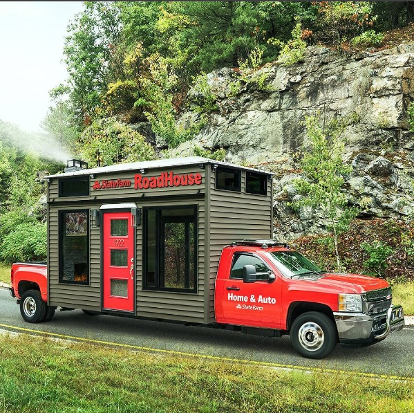 Award Winning! State Farm Roadhouse – #Sponsorship Activation