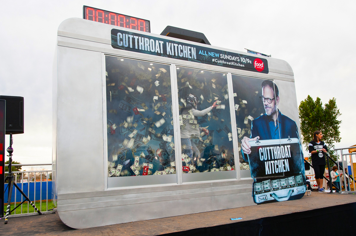Cutthroat Kitchen Food Network's Mobile Exhibit #DIRECTTV #FunFestival