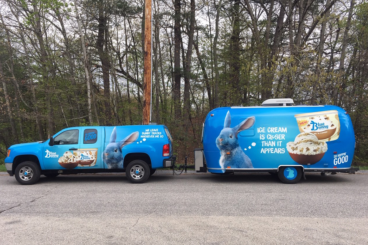 Blue Bunny – Food Service Airstream