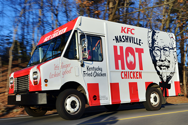 KFC | Nashville Hot Chicken Food Truck Tour