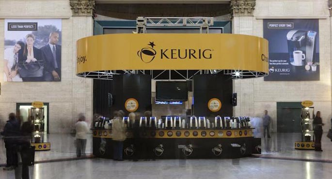 "Keurig Coffee| The ""Perfect Commute"" Exhibit"