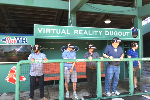 Boston Red Sox | Virtual Reality Dugout
