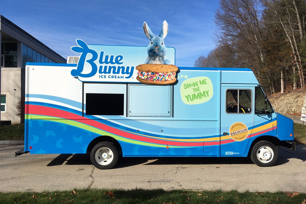 Wells Enterprises | Blue Bunny Food Truck