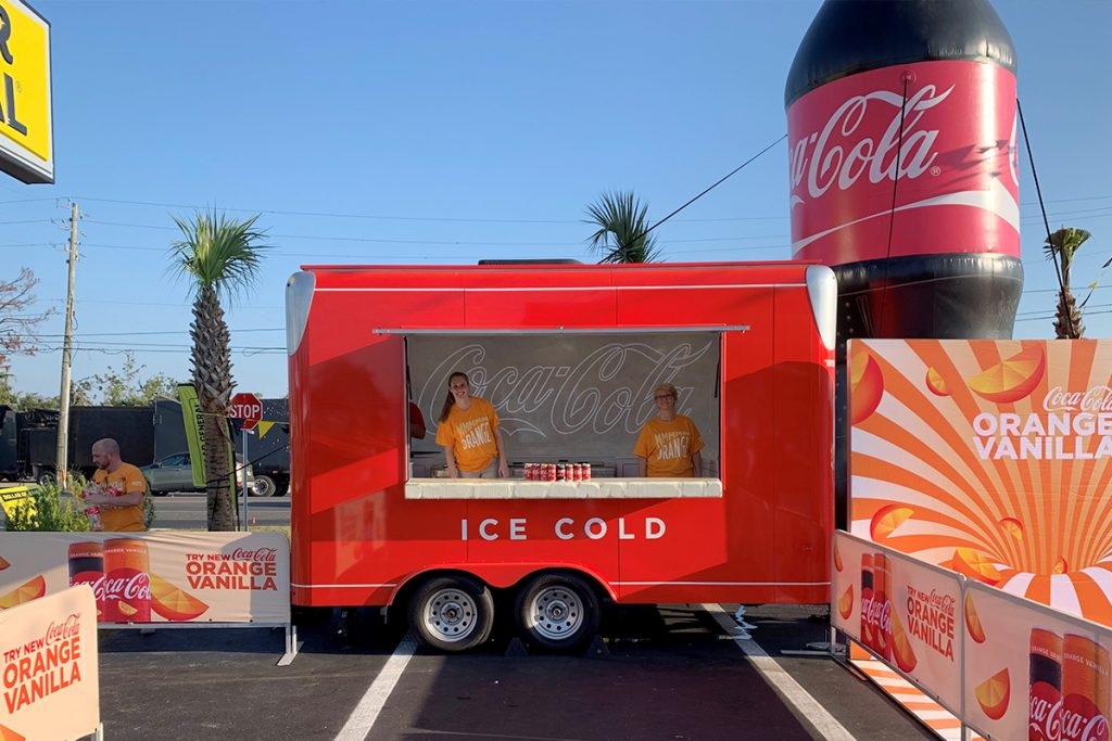 Coca-Cola | Custom Cooler Trailer